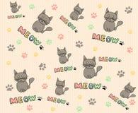 Fondo de los gatos Imagen de archivo libre de regalías