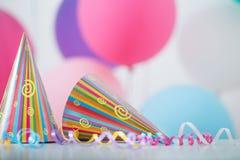 Fondo de los globos para el cumpleaños Imagen de archivo libre de regalías