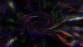 Fondo de los gráficos del movimiento geométrico almacen de video