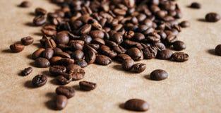 Fondo de los granos de caf? fotos de archivo