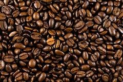 Fondo de los granos de café Foto de archivo
