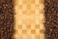 Fondo del café Foto de archivo libre de regalías
