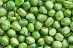 Fondo de los guisantes verdes Imagen de archivo libre de regalías