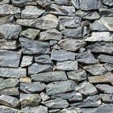 Fondo de los ladrillos de la piedra decorativa fotografía de archivo