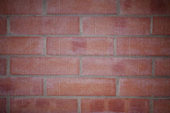 Fondo de los ladrillos rojos Foto de archivo
