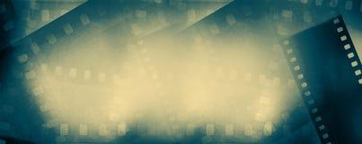Fondo de los marcos de película imágenes de archivo libres de regalías