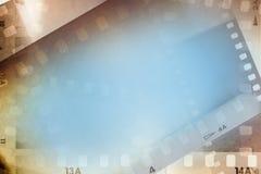 Fondo de los marcos de película imagen de archivo libre de regalías