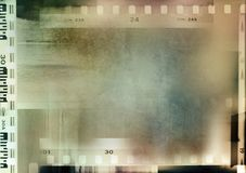 Fondo de los marcos de pel?cula fotografía de archivo