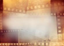 Fondo de los marcos de pel?cula fotos de archivo libres de regalías