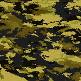Fondo de los militares del camuflaje Foto de archivo