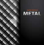 Fondo de los mosaicos del metal del vector Fotos de archivo libres de regalías