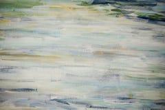 Fondo de los movimientos del cepillo con las pinturas de aceite Fotografía de archivo libre de regalías