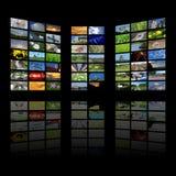 Fondo de los multimedia Fotografía de archivo