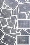 Fondo de los naipes Foto de archivo libre de regalías