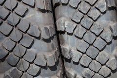 Fondo de los neumáticos de coche de la pisada Foto de archivo
