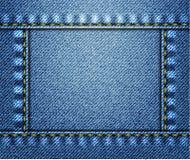 Fondo de los pantalones vaqueros Imagen de archivo
