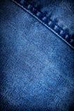 Fondo de los pantalones vaqueros Foto de archivo libre de regalías