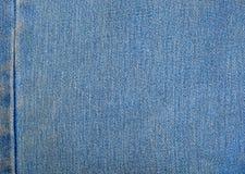 Fondo de los pantalones vaqueros del dril de algodón Imagen de archivo libre de regalías
