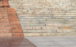 Fondo de los pasos de las escaleras del granito Imágenes de archivo libres de regalías