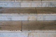 Fondo de los pasos de mármol Imagen de archivo