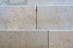Fondo de los pasos de mármol Imagen de archivo libre de regalías