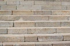 Fondo de los pasos de las escaleras del granito Foto de archivo