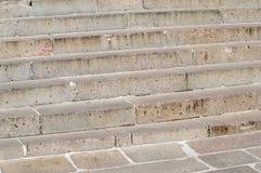 Fondo de los pasos de las escaleras del granito Fotos de archivo