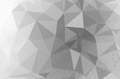 Fondo de los polígonos de plata con textura Foto de archivo libre de regalías