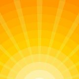 Fondo de los rayos de The Sun - ejemplo Imagen de archivo libre de regalías