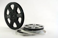 Fondo de los rollos de película Imágenes de archivo libres de regalías