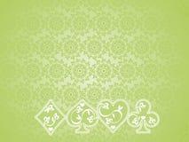 fondo de los símbolos del póker Fotos de archivo libres de regalías