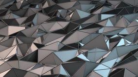 Fondo de los triángulos del metal Libre Illustration