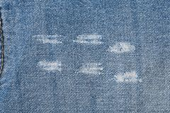 Fondo de los vaqueros del dril de algodón foto de archivo libre de regalías