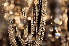 Fondo de lujo abstracto del oro La Navidad, Año Nuevo Fotos de archivo libres de regalías