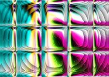 Fondo de lujo abstracto Ilustrations generado por ordenador libre illustration