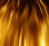 Fondo de lujo de la disposición de la onda del oro abstracto Foto de archivo libre de regalías