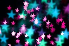 Fondo de lujo de la estrella Fotografía de archivo
