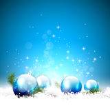 Fondo de lujo de la Navidad stock de ilustración