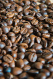 Fondo de lujo de los granos de café Fotos de archivo libres de regalías
