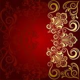Fondo de lujo floral abstracto ilustración del vector