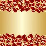 Fondo de lujo para el día de tarjetas del día de San Valentín. Imagen de archivo libre de regalías