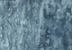 Fondo de mármol abstracto de la acuarela Textura Handcrafted con Fotos de archivo