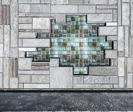 Fondo de mármol de la pared Foto de archivo libre de regalías