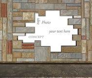Fondo de mármol de la pared Imagen de archivo libre de regalías