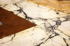 Fondo de mármol del piso Imagen de archivo libre de regalías
