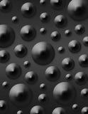 Fondo de mármol negro Foto de archivo libre de regalías