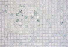 Fondo de mármol de piedra blanco del modelo de las tejas fotografía de archivo libre de regalías