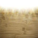Fondo de madera abstracto efectos luminosos borrosos Foto de archivo libre de regalías