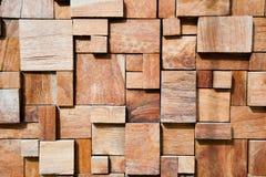 Fondo de madera adornado moderno cuadrado Imagen de archivo libre de regalías