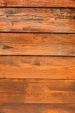 Fondo de madera anaranjado Foto de archivo libre de regalías